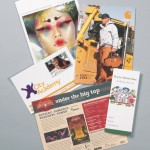 printing bi-fold brochures